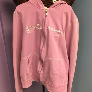 Girls Billabong Light Purple ZipUp Hoodie Jacket